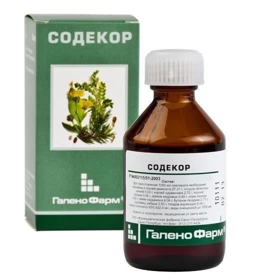 Содекор для поднятия тромбоцитов